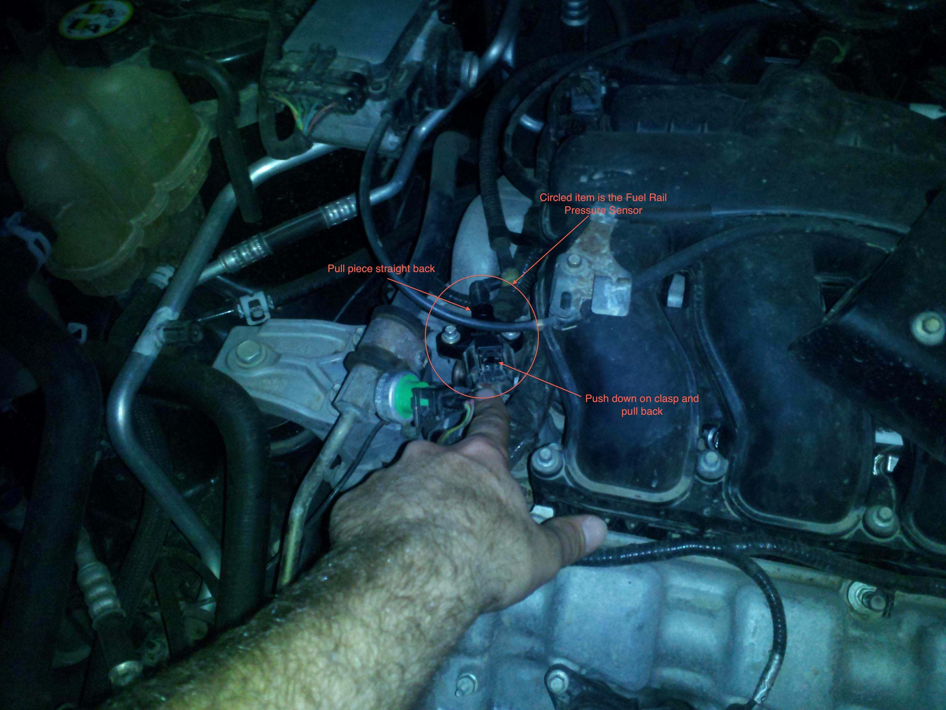 Fuel Rail Pressure Sensor - 3 0L Duratec - Ford Escape Forum